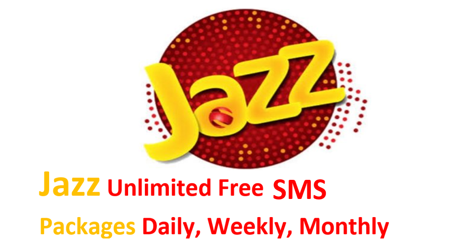 Free Unlimited Jazz SMS Packages 2020 Daily Weekly Monthly