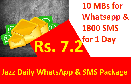Jazz Daily WhatsApp & SMS Package
