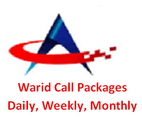 Warid Call Packages Hourly, Daily, Weekly, Monthly and Postpaid Package