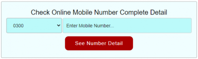 SIM Owner Name by Mobile Number